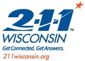 211 Wisconsin logo